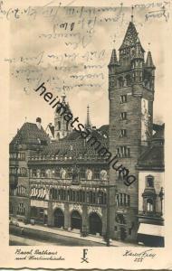 Basel - Rathaus - Foto-AK - Verlag Xaver Frey Basel - beschrieben