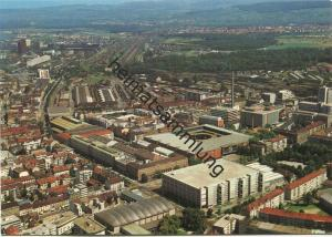 Basel - Mustermesse - AK Grossformat - Flugaufnahme P. Zaugg Solothurn