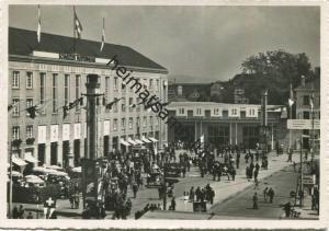 Basel - Mustermesse Basel - Foto-AK Grossformat - Verlag Agofoba Basel gel.