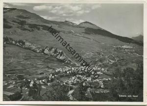 Scuol - Schuls - Foto-AK Grossformat - Verlag Foto-Rauch Schuls - gel. 1956