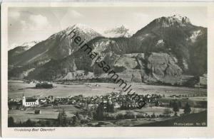 Hindelang - Bad Oberdorf - Foto-Ansichtskarte - Verlag Letzer Hindlang