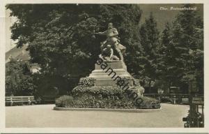 Chur - Fontanadenkmal - Foto-AK - Edition Guggenheim Zürich gel. 1930