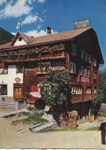 Disentis - Gasthaus Bündnerstube - AK Grossformat - Verlag Jules Geiger Flims gel. 1961