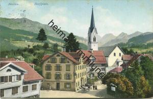Nesslau - Dorfplatz - Verlag Verkehrs-Verein Nesslau-Neu St. Johann gel. 1914