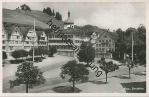 Gais - Dorfplatz - Foto-AK - Verlag Photoglob Wehrli & Vouga Zürich
