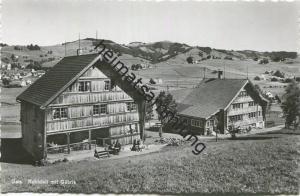Gais - Ruhhüsli mit Gäbris - Foto-AK - Verlag Photoglob Wehrli & Vouga Zürich - Rückseite beschrieben