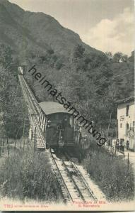 Lugano - Funicolare al Mte. S. Salvatore - Verlag Photoglob Co Zürich