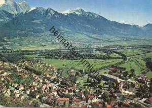Bad Ragaz - Blick auf Maienfeld - AK Grossformat - Verlag Foto-Gross St. Gallen gel. 1966