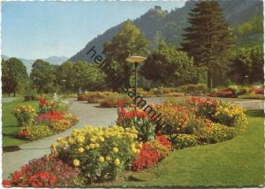 Bad Ragaz - Kurpark - AK Grossformat - Verlag Foto Fetzer Bad Ragaz gel. 1963