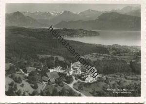 Luzern - Kurhaus Sonn-Matt - Fliegeraufnahme - Foto-AK Grossformat - Verlag O. Wyrsch Bern gel. 1954