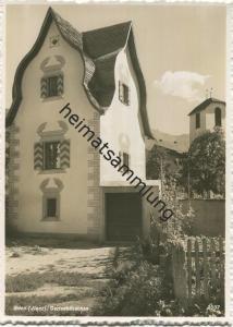 Glion / Ilanz - Gartenhäuschen - Foto-AK Grossformat - Verlag Jules Geiger Flims