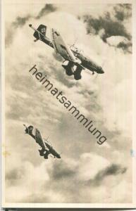 Sturzkampfflugzeug Junkers Ju 87 - Foto-Ansichtskarte - Verlag Amag = Albrecht & Meister AG Berlin