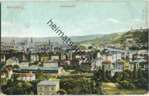 Würzburg - Totalansicht - Verlag W. Claus Würzburg