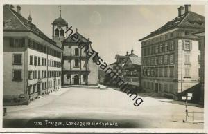 Trogen - Landsgemeindeplatz - Foto-AK gel. 1934