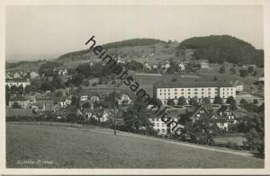 Herisau - Kaserne - Foto-AK - Verlag Globetrotter Luzern - Militärpost gel.