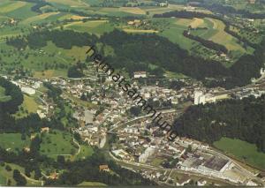 Wolhusen - Flugaufnahme - AK Grossformat - Edition Bolzern Luzern