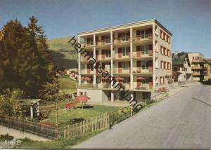 Lenzerheide - Sporthotel Scalottas - Besitzer Familie Parpan - AK Grossformat - Verlag Kurt Heinze Lenzerheide - rücksei