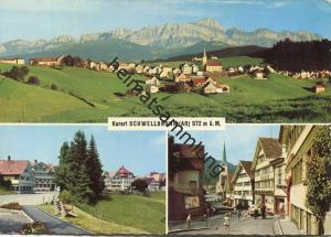 Schwellbrunn - AK Grossformat - Verlag Foto-Gross St. Gallen - gel. 1965