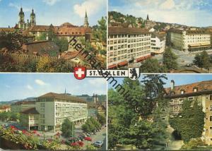 St. Gallen - AK Grossformat - Verlag Foto-Gross St. Gallen gel. 1968