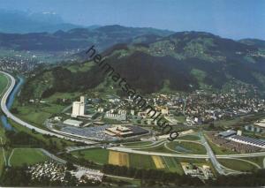 St. Margrethen - Flugaufnahme - AK Grossformat - Verlag Foto-Gross St. Gallen