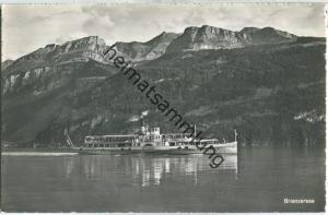 Brienzersee - Dampfer Lötschberg - Axalp - Verlag H. C. Maeder Brienz