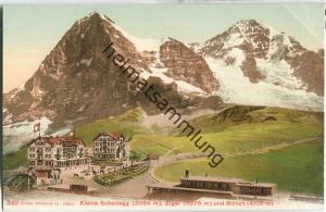 Kleine Scheidegg - Eiger und Mönch - Edition Photoglob Co. Zürich