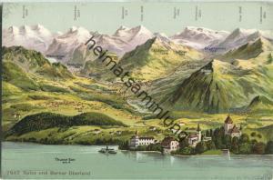 Spiez und Berner Oberland - Edition Phototypie Co. Neuchatel ca. 1905