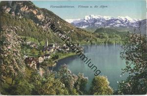 Vierwaldstättersee - Vitznau und die Alpen - Verlag E. Goetz Luzern
