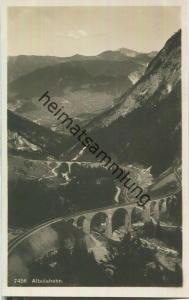 Albulabahn - Foto-Ansichtskarte 20er Jahre - Wehrliverlag Kilchberg