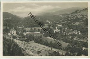 Reichenau GR - Bahnhofsbuffet - Foto-Ansichtskarte 20er Jahre - Verlag W. Goetz Chur