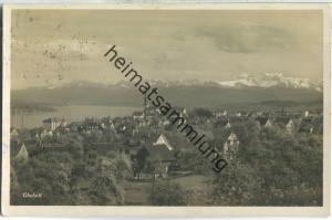 Thalwil - Foto-Ansichtskarte - Wehrliverlag Kilchberg