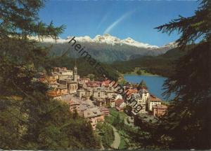 St. Moritz - AK Grossformat - Verlag Hans Steiner St. Moritz