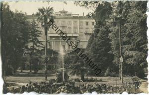 Locarno - Grand Hotel Palace - Foto-Ansichtskarte 20er Jahre - Verlag A. Ryffel Zürich