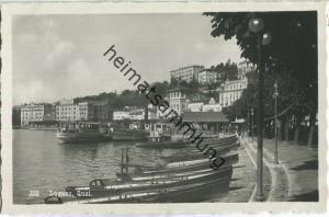 Lugano - Quai - Foto-Ansichtskarte 20er Jahre - Eredi Alfredo Finzi Lugano