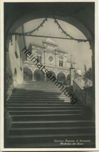 Locarno - Ingresso al Santuario - Madonna del Sasso - Foto-AK 20er Jahre - Edition Photoglob Zürich