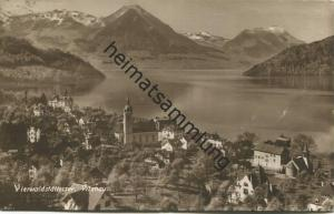 Vitznau - Foto-AK - Verlag E. Goetz Luzern gel. 1921