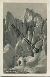 Gletschertürme - Foto-Ansichtskarte - 20er Jahre - Wehrliverlag Kilchberg