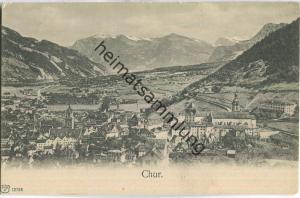 Chur - Gesamtansicht - Verlag Künzli Zürich ca. 1900