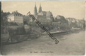 Basel - Münster mit Pfalz - Verlag Wilh. Frey Basel 20er Jahre