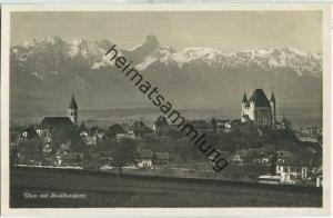 Thun mit Stockhornkette - Foto-Ansichtskarte - Edition Photoglob Zürich 20er Jahre