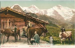 Auf hoher Alp - Edition Photoglob Co. Zürich ca. 1905