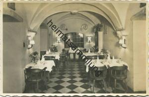 Brigue - Hotel Couronne et Poste - Foto-AK - Verlag J. Jullier Visp