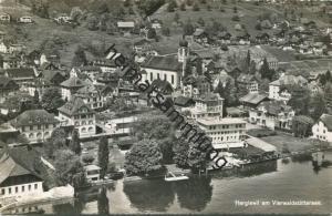 Hergiswil am Vierwaldstättersee - Foto-AK - Verlag Photoglob-Wehrli AG Zürich