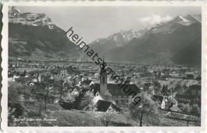 Altdorf gegen das Reustal - Foto-Ansichtskarte - Verlag Eduard von Matt Altdorf