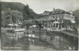 Stansstad - Hotel Winkelried - Foto-Ansichtskarte - Verlag Photoglob Wehrli Zürich