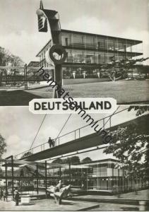 Bruxelles EXPO 1958 - Der Pavillon von Deutschland - Foto-AK Grossformat