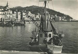 Imperia - Il Porto - vera fotografia - Foto-AK Grossformat - Rückseite beschrieben 1942