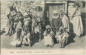 Scenes et Types - Enfants Arabes
