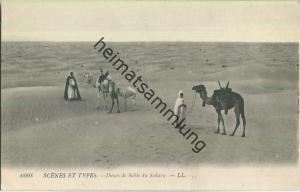 Scenes et Types - Dunes de Sable du Sahara