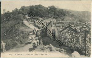 Kabyle - Entree du Village